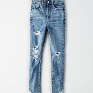 NWT American Eagle Highest Waist Jegging Crop Jean